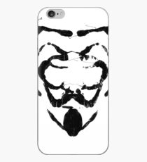 R for Rorschach iPhone Case