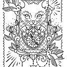 Fox Clock Sketch by Ella Mobbs