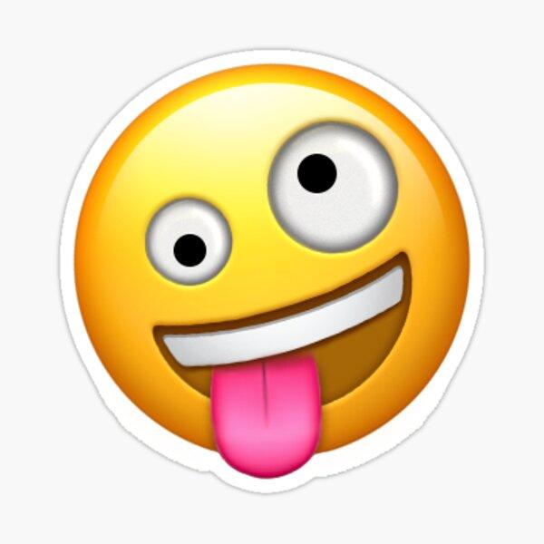 Lengua fuera Emoji Pegatina