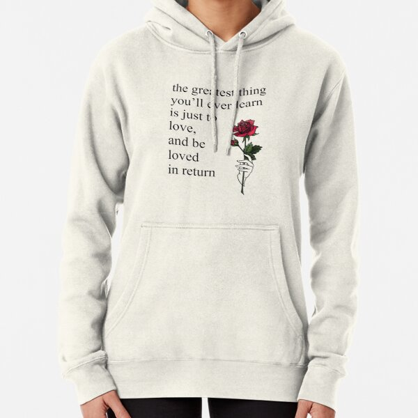 Moulin Rouge Come What May Quote Aesthetic Pullover Hoodie