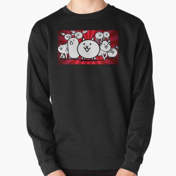 nyanko great war battle cats Pullover Sweatshirt