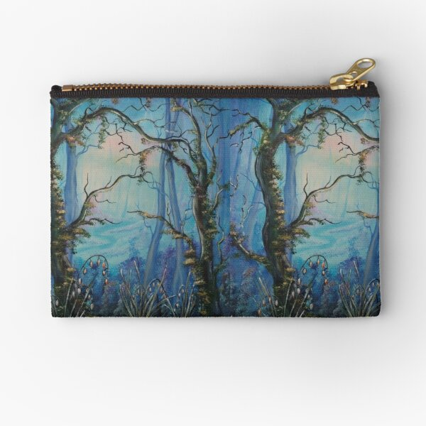 Into The Blue Zipper Pouch