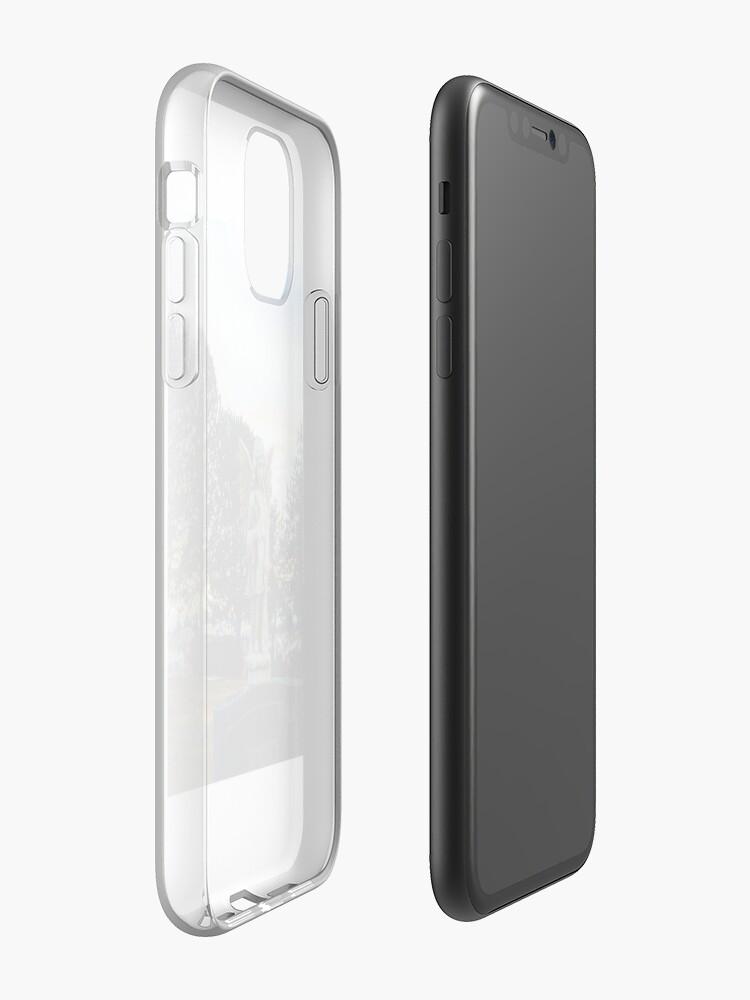 coque zadig - Coque iPhone «Pierre tombale d'ange», par phusser831