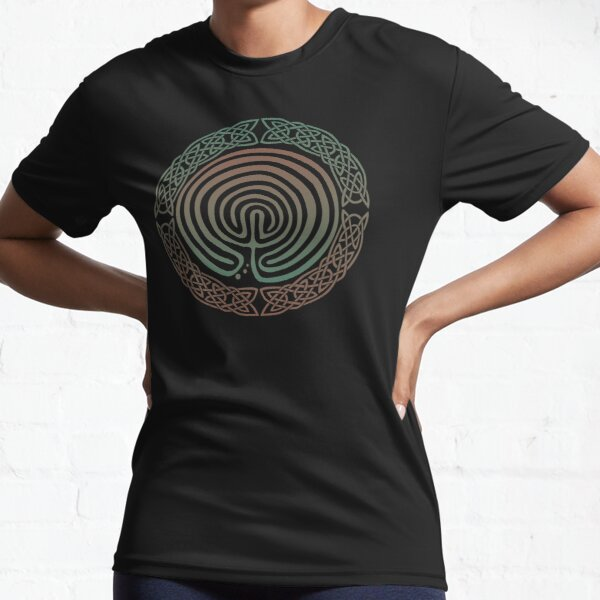 Into the Labyrinth Active T-Shirt