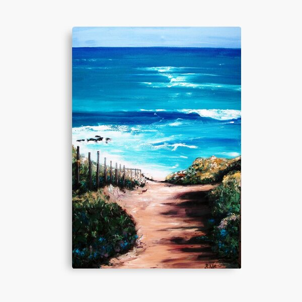 Mornington Peninsula Beach Canvas Print