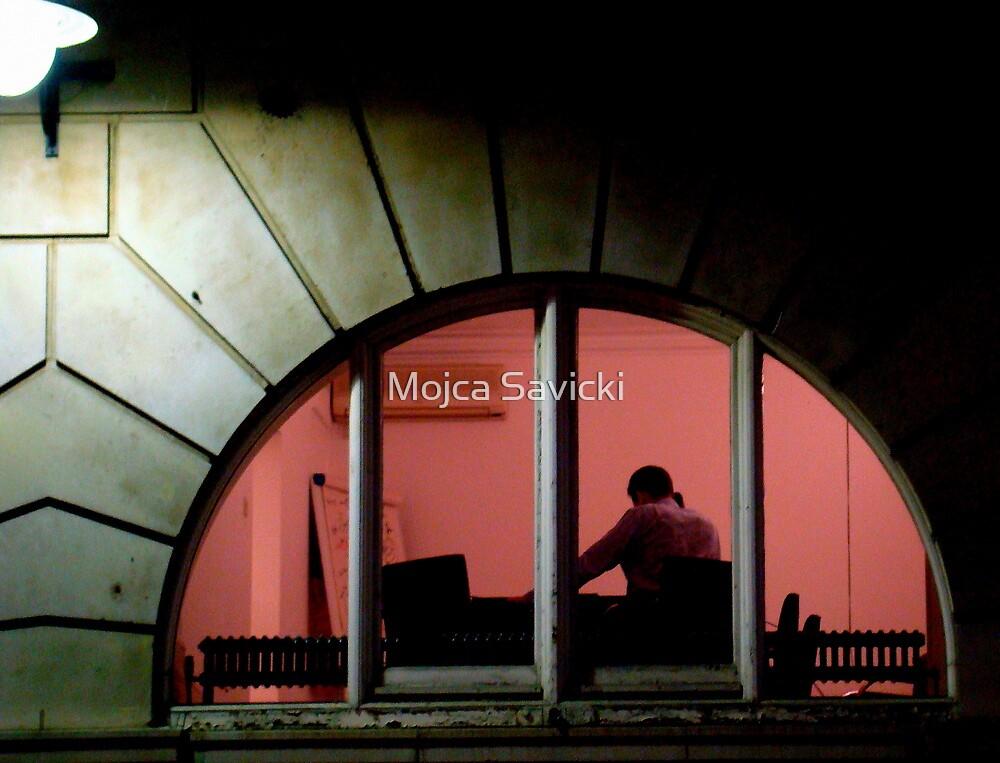 Working Late by Mojca Savicki
