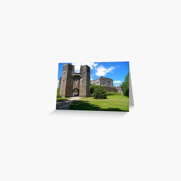Berry Pomeroy Castle Greeting Card