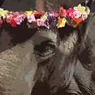 Elephant with Headdress by Jennifer Chan