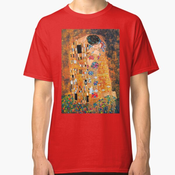 Gustav Klimt - The kiss  Classic T-Shirt