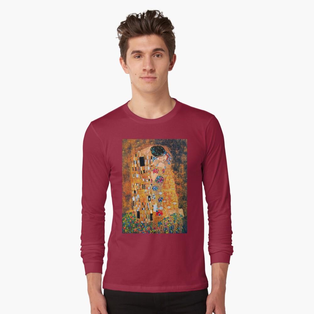 Gustav Klimt - Der Kuss Langarmshirt