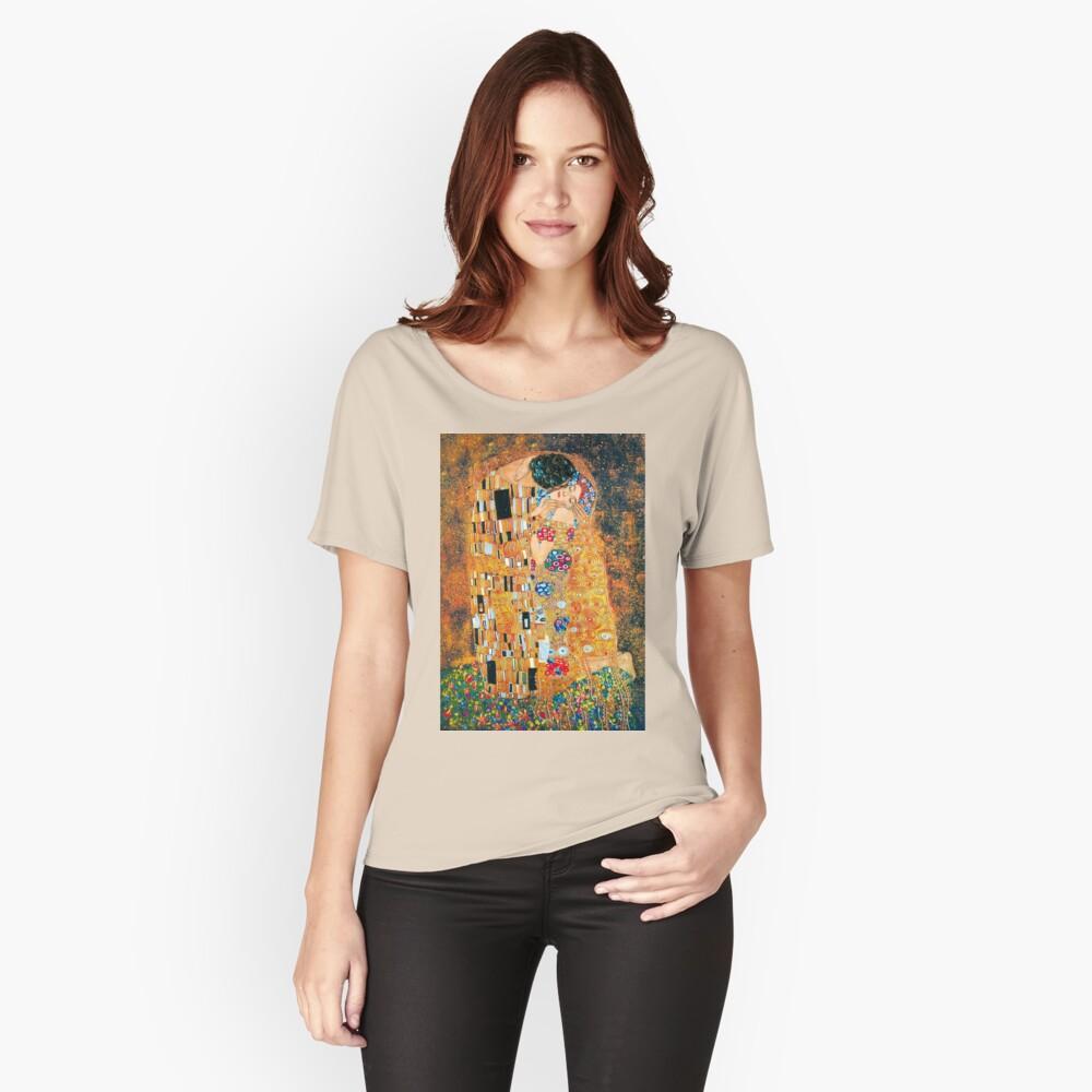 Gustav Klimt - Der Kuss Loose Fit T-Shirt