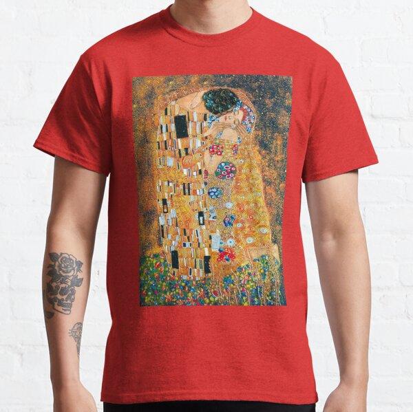 Gustav Klimt - El beso Camiseta clásica