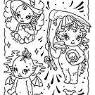 Halloween Kewpie Dolls by Ella Mobbs