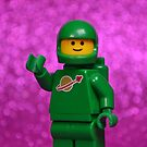 LEGO Classic Spaceman Green by CheepJokes