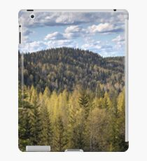 Hills and clouds iPad Case/Skin