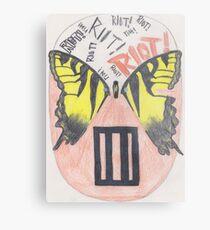 """Paramore """"Mask"""" Metal Print"""