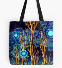 Spiritual Forest Neon Colours Tote Bag