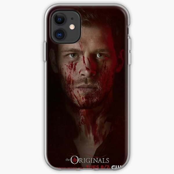 Klaus Mikaelson - The Originals Character Poster iPhone Soft Case