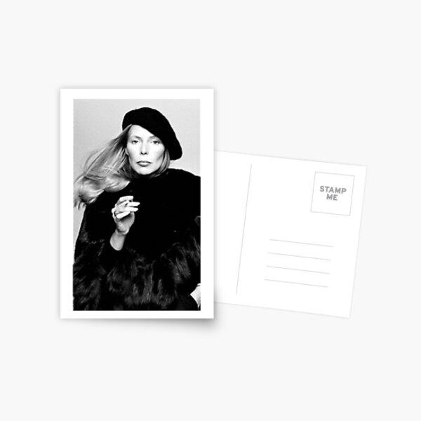 Joni Mitchell Postcard