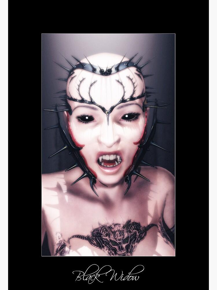 Black Widow by FrankThomas