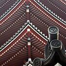 Pagoda at Senso-ji Temple by Jennifer Chan