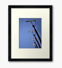 sci-fi lamps Framed Print
