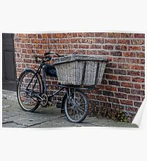 Delivery Bike Poster