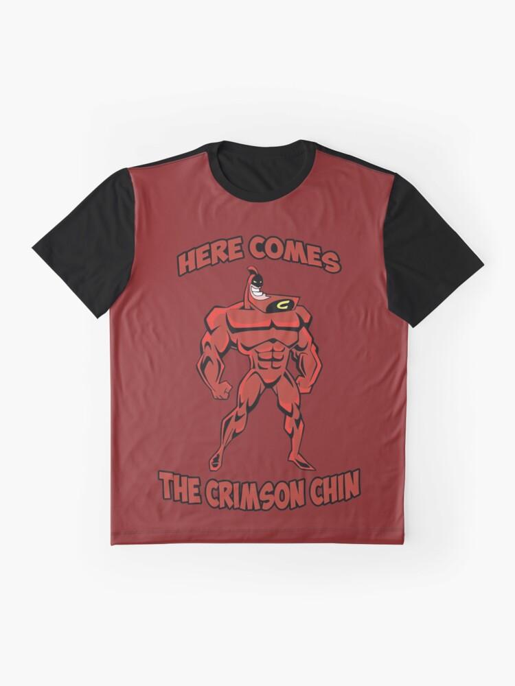 Alternative Ansicht von Das rote Kinn Grafik T-Shirt