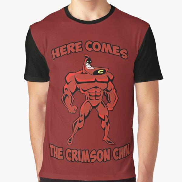 The Crimson Chin Graphic T-Shirt
