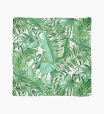 Green tropical leaves II Tuch