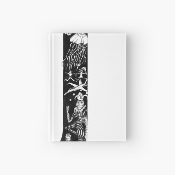 The letter J Hardcover Journal