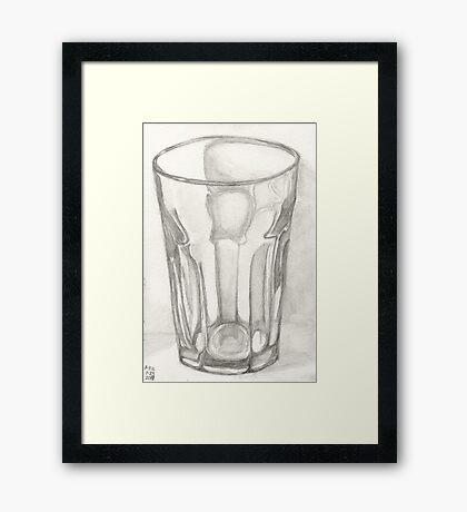The Logic Of A Glass Framed Print
