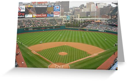 Jacobs Field, Home of the Cleveland Indians by bmwlego