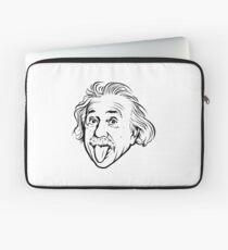 Funda para portátil Ilustraciones de Albert Einstein Con su famosa foto que muestra la lengua, camisetas, impresiones, pósters, bolsos