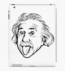 Vinilo o funda para iPad Ilustraciones de Albert Einstein Con su famosa foto que muestra la lengua, camisetas, impresiones, pósters, bolsos