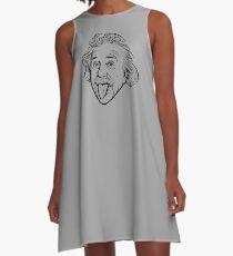 Vestido acampanado Ilustraciones de Albert Einstein Con su famosa foto que muestra la lengua, camisetas, impresiones, pósters, bolsos