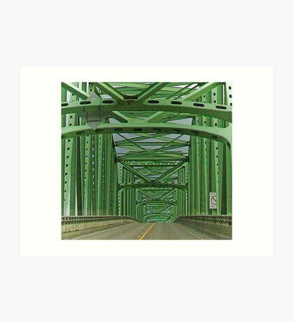 bridge to infinity Art Print