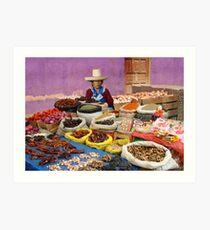 PEPPERS - PERU Art Print