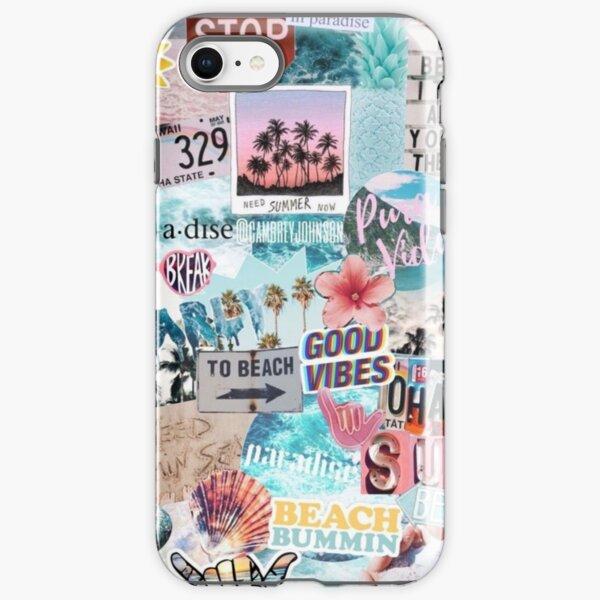 Summer Break Collage iPhone Tough Case