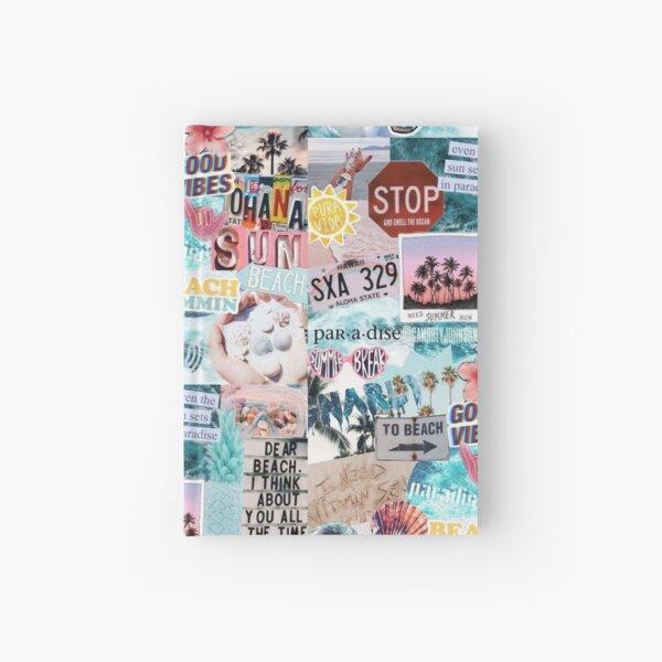 Summer Break Collage Hardcover Journal
