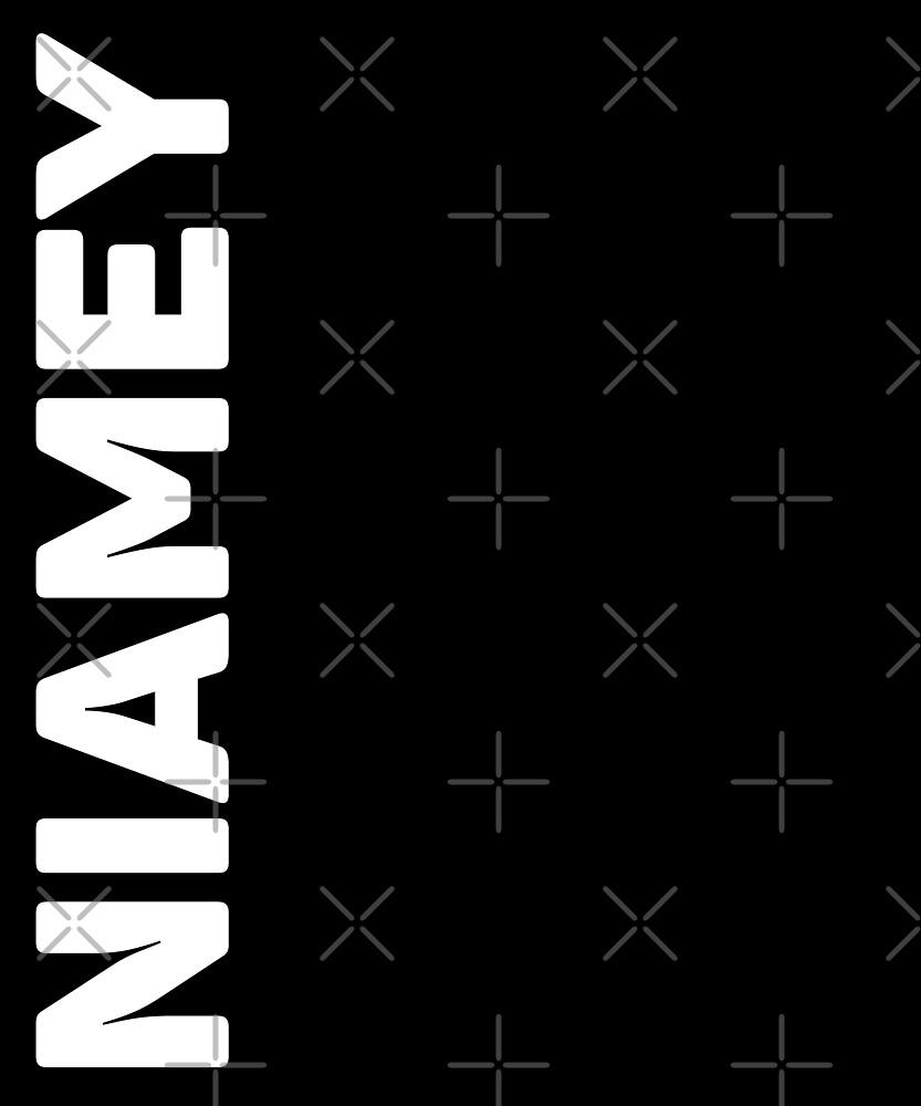 Niamey T-Shirt by designkitsch