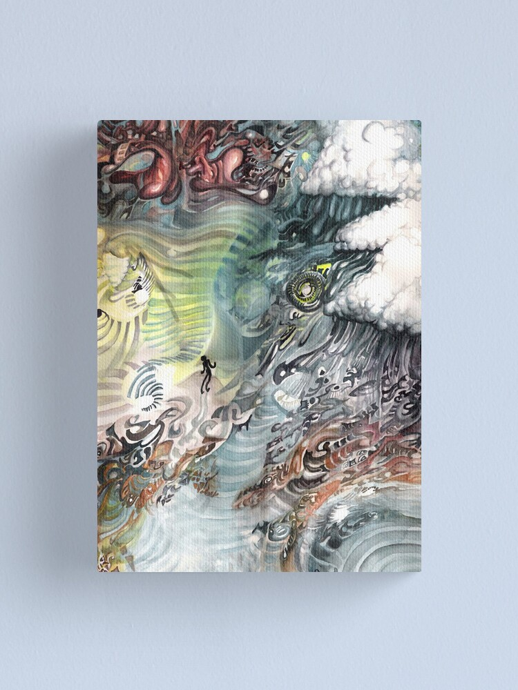 Alternate view of Heaven to Stairway Canvas Print