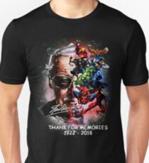 Rest in Peace and Thank You For The Memories Slim Fit T-Shirt