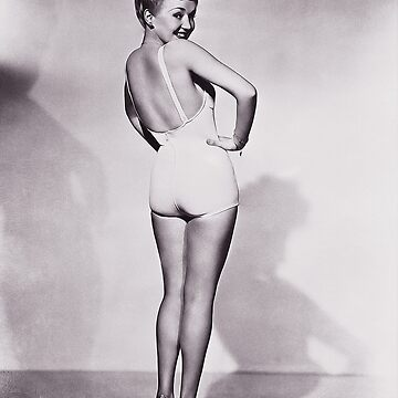 Betty Grable [Oil Paint Rendering] by michaelroman