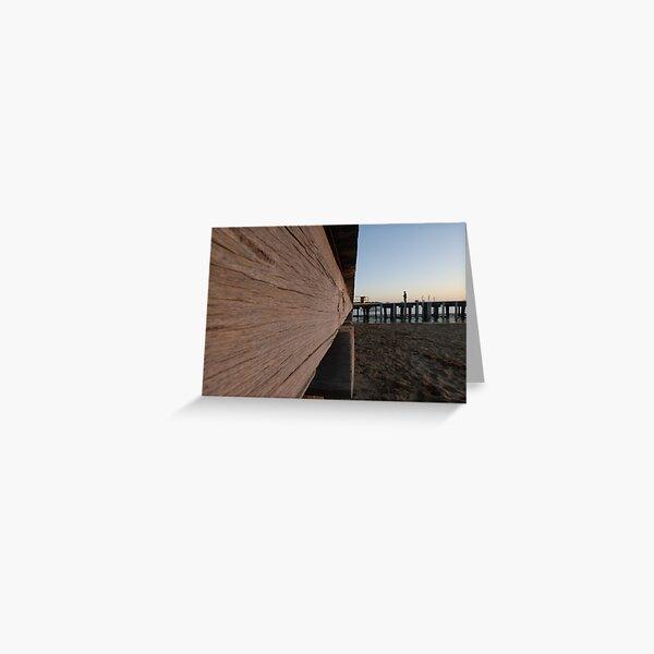 Barwon Heads Pier Greeting Card