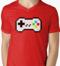 Pixel controler Men's V-Neck T-Shirt