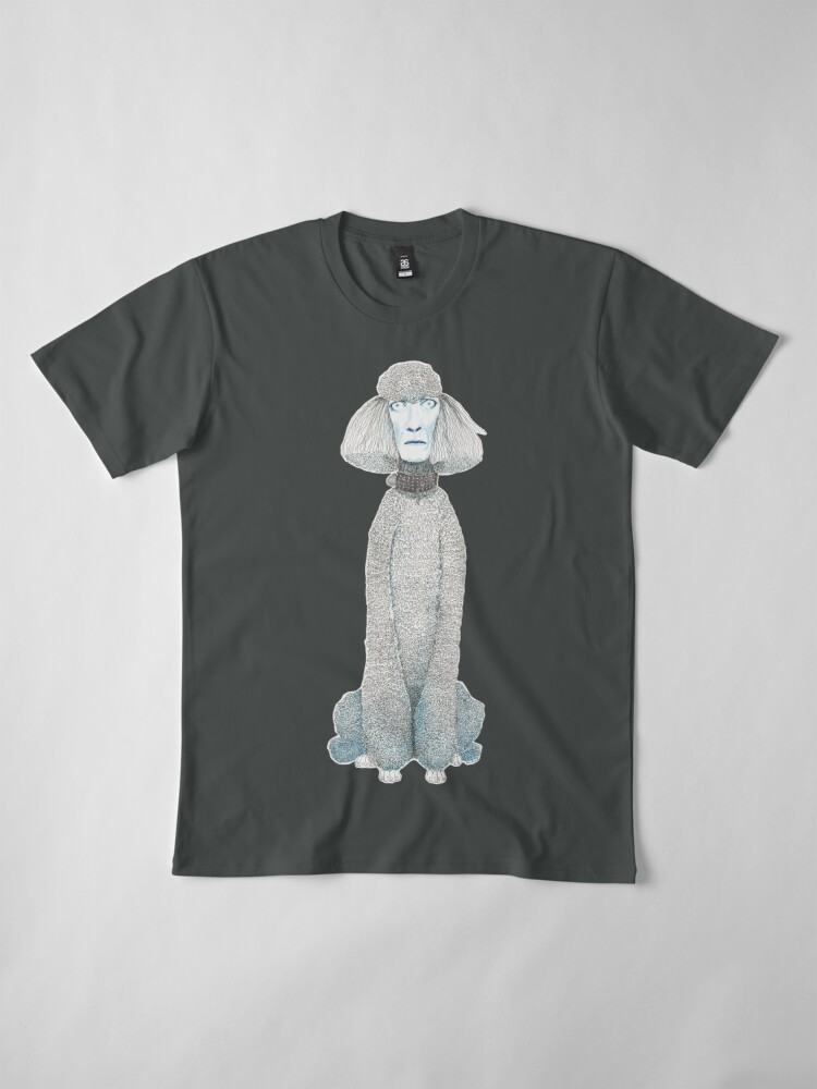 Alternate view of Weird poodles - don't worry, be happy Premium T-Shirt