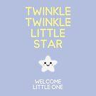 Twinkle twinkle little star – Welcome little one von Jotteff