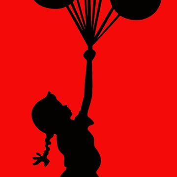 Banksy Girl with Balloons by furioso