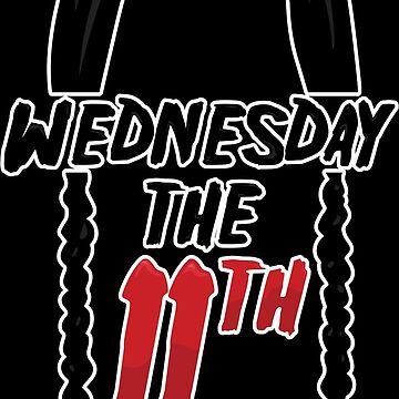 Wednesday Addams the 11th Black edition by frajtgorski